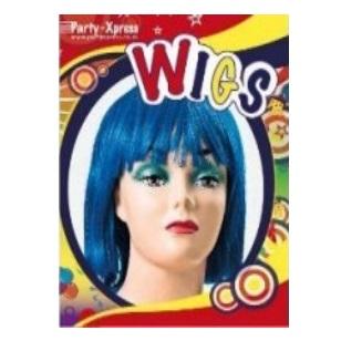 Wig Bob Blue