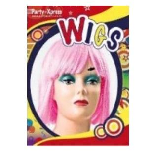 Wig Bob Pink