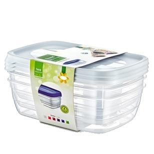1.5L Trend Storage Box 3Pack