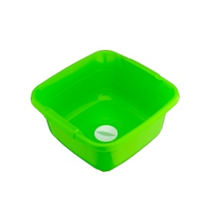 11L Colour Basin With Hand Strainer