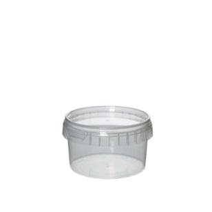 250ml Tamper Proof Tub & Lid