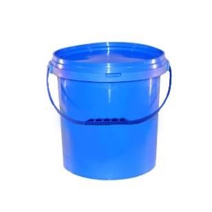 25L Blue Bucket & Lid