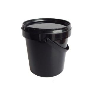 25L Talo Pac Black Bucket & Lid