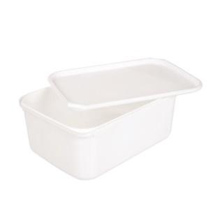 2L Ice-Cream Tub White