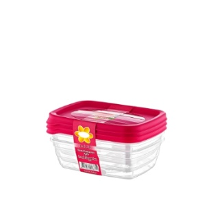 300ml Trend Storage Box 3Pack