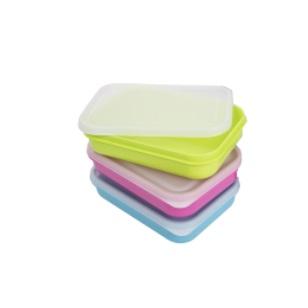 500ml Lunch Box & Lid 5Pc - Colour