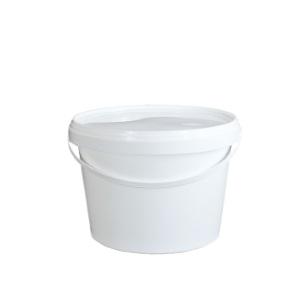 5L White Bucket & Lid