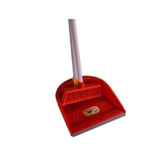 Brush With Dustpan & Handle