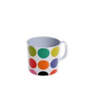 Melamine Dots Mug 250ml