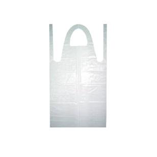 Plastic Aprons White 100pc