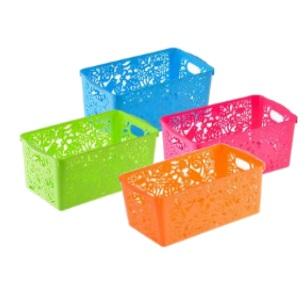 Plastic Basket Multi Purpose 25x14x10cm