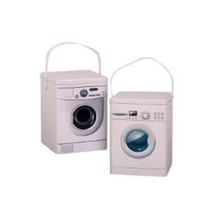 Storage Tin Washing Powder 15x15x21cm