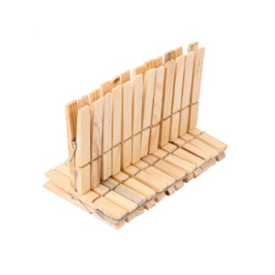 Wooden Washing Pegs 24pc