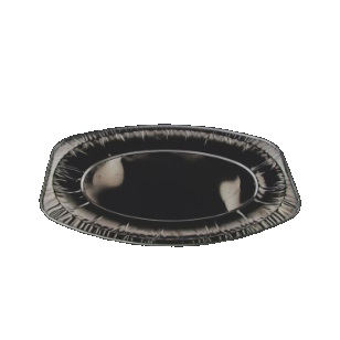 Alu Cater Oval Tray BK14P [385x260]