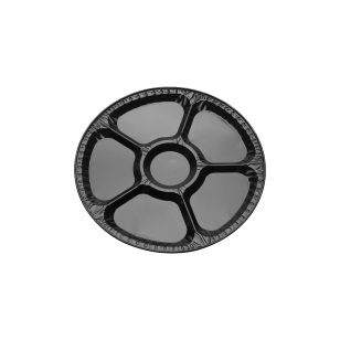 Alu Cater Tray Medium BK15S [365x17]