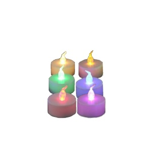 Flameless Candle - Tealight Large 2pc