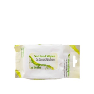 Hand Wipes 25pc