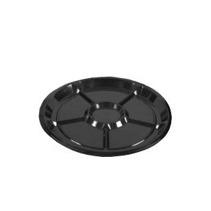 Round Cater Division Tray T408 [435Dx20]