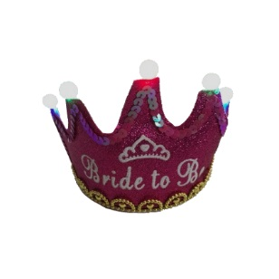 Bride To Be Crown Light Up
