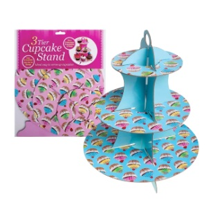 Cupcake Stand 3-Tier Paper