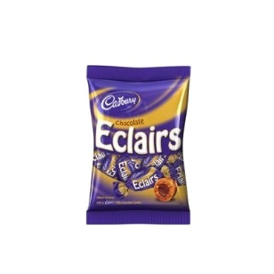 150g Chocolate Eclairs Candy Tops