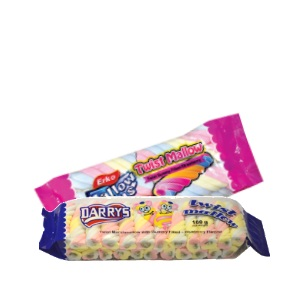 180g Darry's - Blueberry and Strawberry Twist Mallow