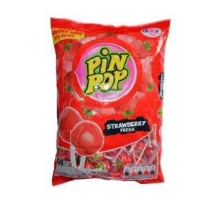 912g Aldor - Pin Pop Lollipop Assorted 48pc