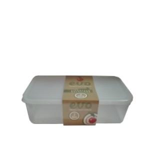 EVO - 2L/8-Slice Lunchbox - Clear