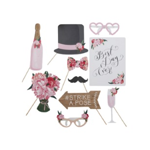 Photo Booth Props 10pc
