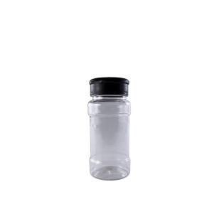 100ml Shaker Bottle & Black Flip Lid 19Hole