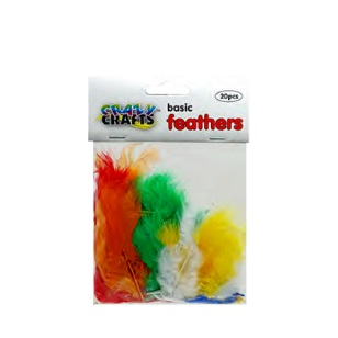 Feathers - Basic Assorted 20pc