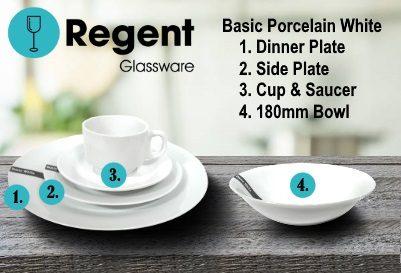Regent Glassware Range