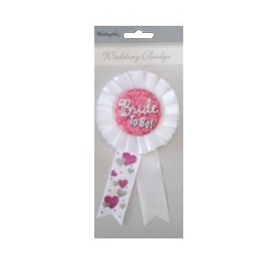 Bride To Be - Rosette White