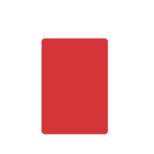 Cutting Board - RED 400x250x12mm