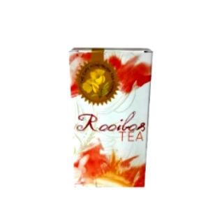 50g Rooibos Tea Wrap Tag Retail Pack 25pc