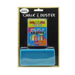Chalkboard - Chalk & Duster Set 2pc