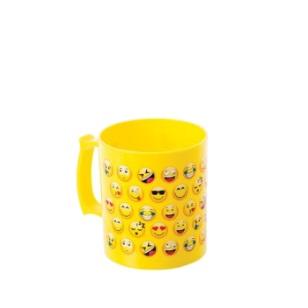 Mug Emoticon Plastic 8cm