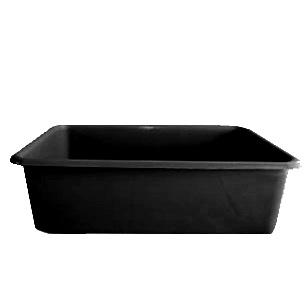 Rectangular Fridge Dish Black