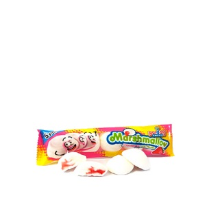 17g Strawberry Filled Mallows 5pc