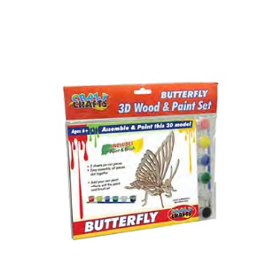 Craft Kit - Wooden Butterfly