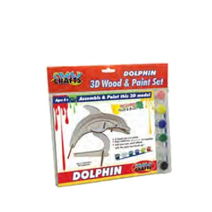 Craft Kit - Wooden Dolphin