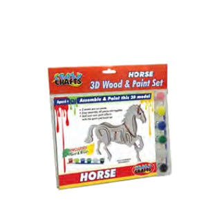 Craft Kit - Wooden Horse