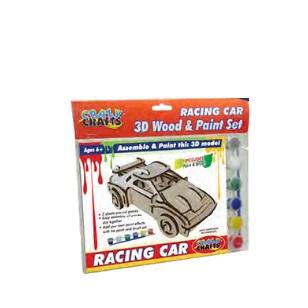 Craft Kit - Wooden Racing Car