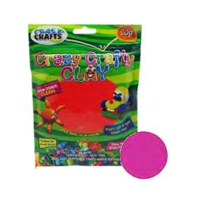 Crazy Crafty Clay 50g - Cerise