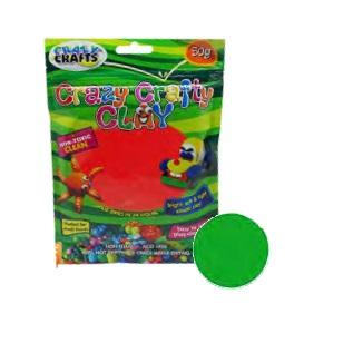 Crazy Crafty Clay 50g - Green