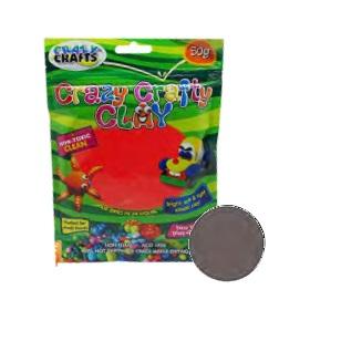 Crazy Crafty Clay 50g - Grey