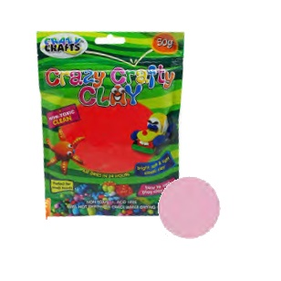 Crazy Crafty Clay 50g - Light Pink