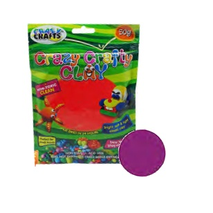 Crazy Crafty Clay 50g - Light Purple