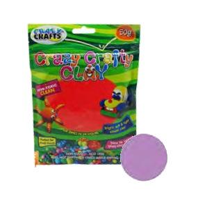 Crazy Crafty Clay 50g - Lilac