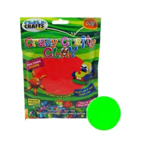 Crazy Crafty Clay 50g - Lime